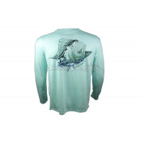 Camiseta H2 Outdoors Water Blast Dolphin