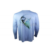 Camiseta H2 Outdoors Water Blast Marlin