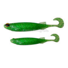 Isca E-Shad Soft Bass Monster 3X - Eletric Lemon