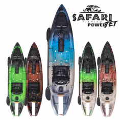 Caiaque Safari Power Jet