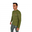 Camiseta Fishing Co Básica - Verde Militar
